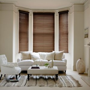 Fired Walnut Venetian Blinds