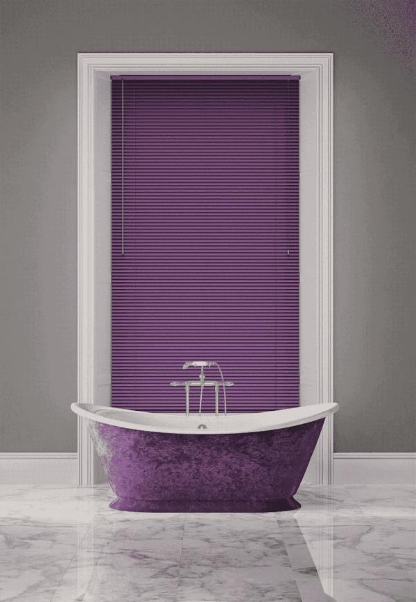 Majestic Purple Venetian Blinds