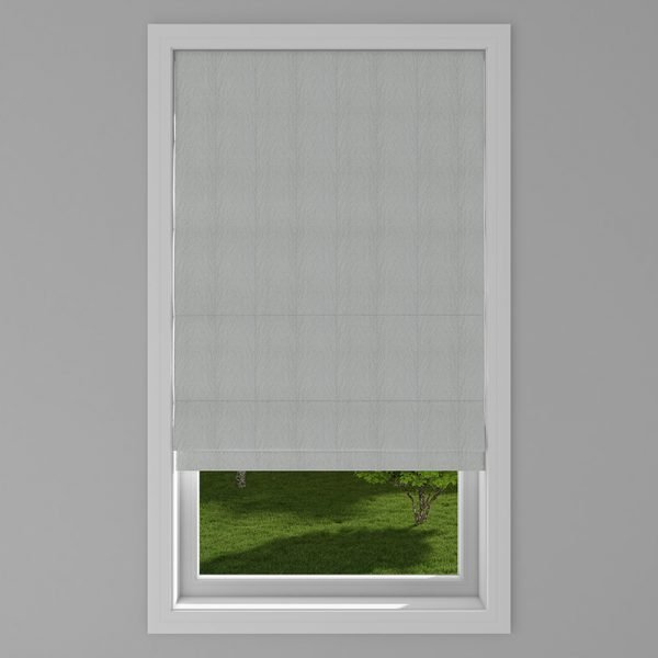 Rumi Smoke Roman Blind