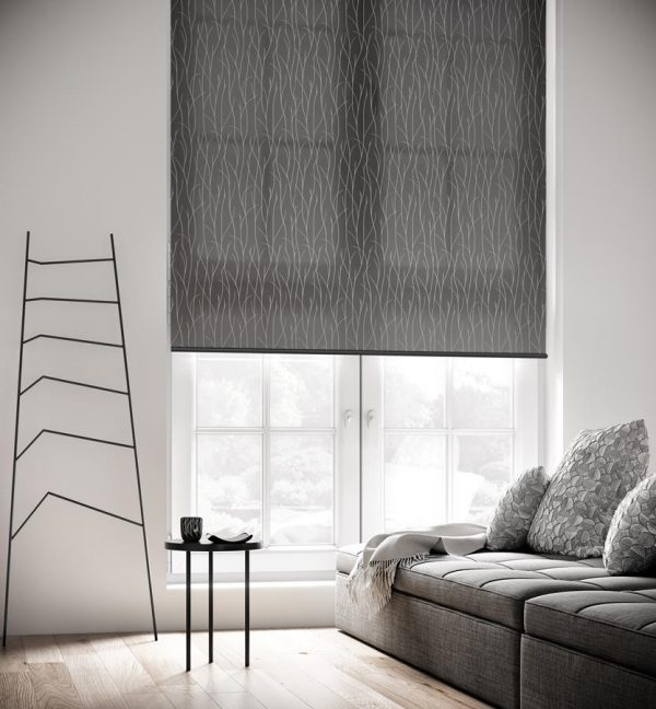 Sio Charcoal Roller Blind